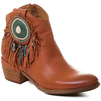 Cipők Női Bokacsizmák Rebecca White T0605 |Rebecca White| D??msk?? ko?en?? kotn??kov?? boty s podpatkem v