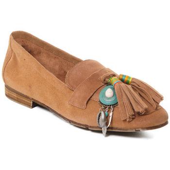 Cipők Női Mokkaszínek Rebecca White T3506 Bézs