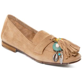 Cipők Női Mokkaszínek Rebecca White T3506 Barna