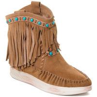 Cipők Női Bokacsizmák Rebecca White T6016 Barna