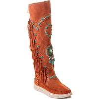 Cipők Női Csizmák Rebecca White T6012 Piros