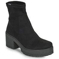 Cipők Női Városi csizmák Victoria ATALAIA CHELSEA Fekete