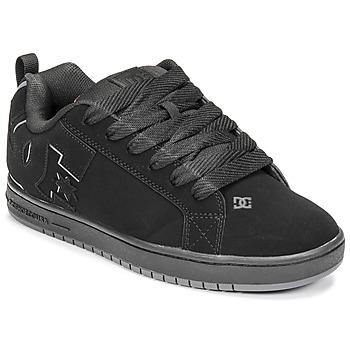 Cipők Férfi Deszkás cipők DC Shoes COURT GRAFFIK Fekete  / Piros