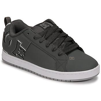 Cipők Férfi Deszkás cipők DC Shoes COURT GRAFFIK Szürke / Fekete