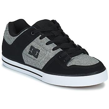Cipők Férfi Deszkás cipők DC Shoes PURE Szürke / Fekete