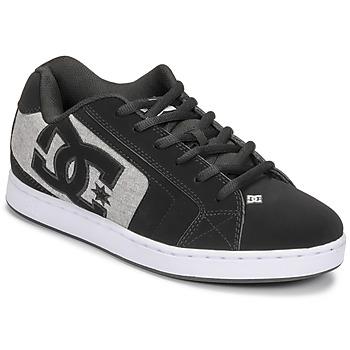 Cipők Férfi Deszkás cipők DC Shoes NET Fekete  / Szürke