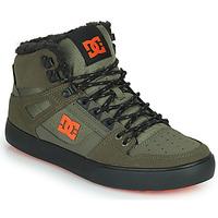 Cipők Férfi Magas szárú edzőcipők DC Shoes PURE HIGH-TOP WC WNT Keki / Fekete