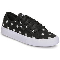 Cipők Női Rövid szárú edzőcipők DC Shoes MANUAL TXSE Fekete  / Fehér