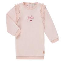 Ruhák Lány Rövid ruhák Carrément Beau ABRICOT Rózsaszín