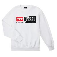 Ruhák Gyerek Pulóverek Diesel SGIRKCUTY OVER Fehér