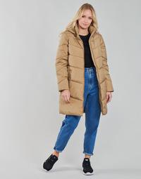 Ruhák Női Kabátok Vila VIADAYA Teve