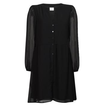 Ruhák Női Rövid ruhák Vila VIAMIONE Fekete