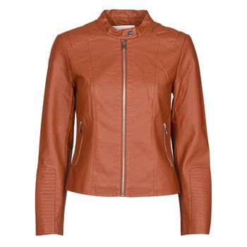 Ruhák Női Bőrkabátok / műbőr kabátok Vila VIBLUE Rozsda
