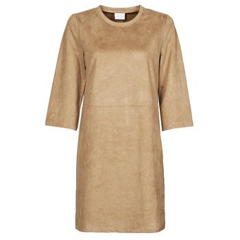 Ruhák Női Rövid ruhák Vila VISUDA Barna