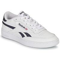 Cipők Rövid szárú edzőcipők Reebok Classic CLUB C REVENGE Fehér / Tengerész