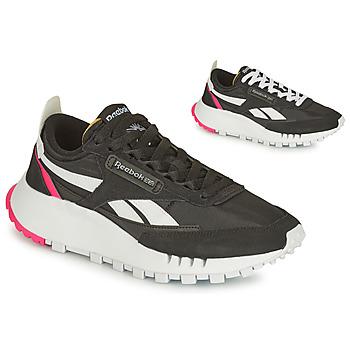 Cipők Női Rövid szárú edzőcipők Reebok Classic CL LEGACY Fekete  / Fehér