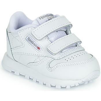 Cipők Gyerek Rövid szárú edzőcipők Reebok Classic CL LTHR 2V Fehér