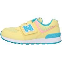 Cipők Fiú Rövid szárú edzőcipők New Balance PV574BYS YELLOW