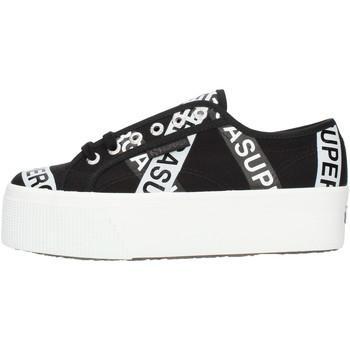 Cipők Női Rövid szárú edzőcipők Superga S41161W Black