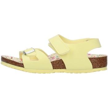 Cipők Lány Szandálok / Saruk Birkenstock 1019683 YELLOW