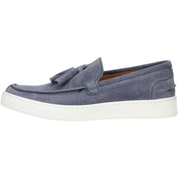 Cipők Férfi Mokkaszínek Made In Italia 080CAMOSCIO Kék