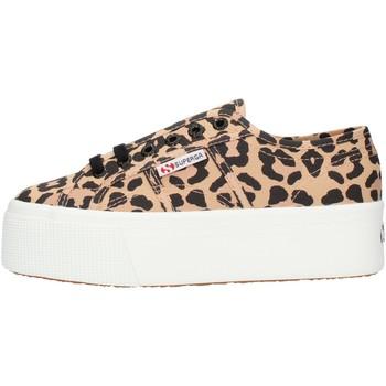 Cipők Női Magas szárú edzőcipők Superga S11317W Leopard