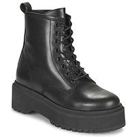 Cipők Női Csizmák Betty London PICARLA Fekete