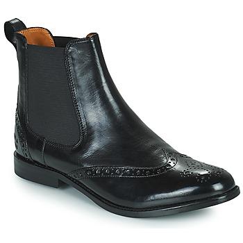 Cipők Női Csizmák Melvin & Hamilton AMELIE 5 Fekete
