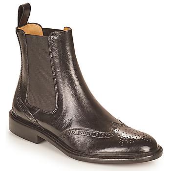 Cipők Női Csizmák Melvin & Hamilton SALLY 112 Fekete