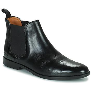 Cipők Női Csizmák Melvin & Hamilton SUSAN 10 Fekete