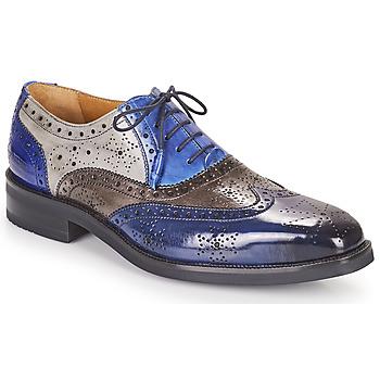 Cipők Férfi Oxford cipők Melvin & Hamilton JEFF 28 Kék