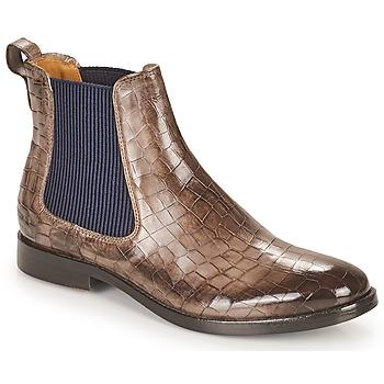 Cipők Női Csizmák Melvin & Hamilton AMELIE 12 Barna