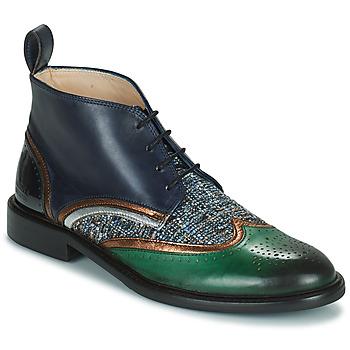Cipők Női Csizmák Melvin & Hamilton SALLY 30 Barna