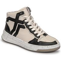 Cipők Női Magas szárú edzőcipők Bronx OLD COSMO Fehér / Fekete