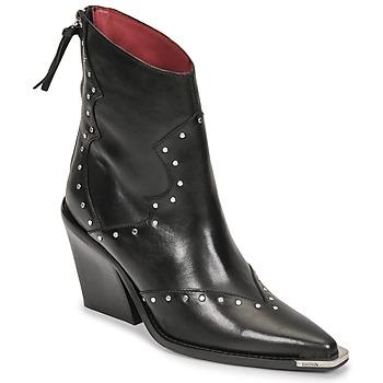 Cipők Női Városi csizmák Bronx NEW KOLE Fekete