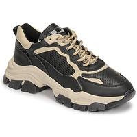 Cipők Női Rövid szárú edzőcipők Bronx TAYKE OVER Fekete