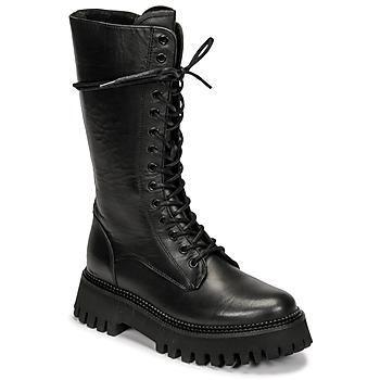 Cipők Női Csizmák Bronx GROOV Y Fekete