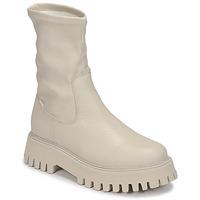 Cipők Női Csizmák Bronx GROOV Y Fehér