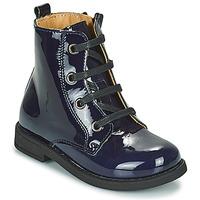 Cipők Lány Csizmák Citrouille et Compagnie HEMANU Kék