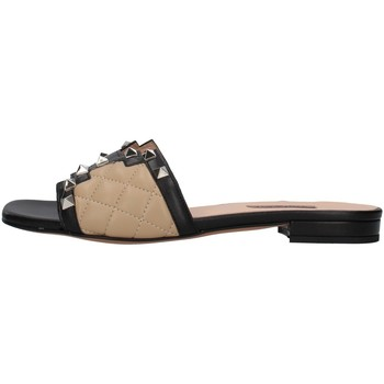 Cipők Női Papucsok Albano 8005 BLACK