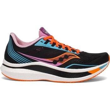 Cipők Női Futócipők Saucony Endorphin Pro Fekete