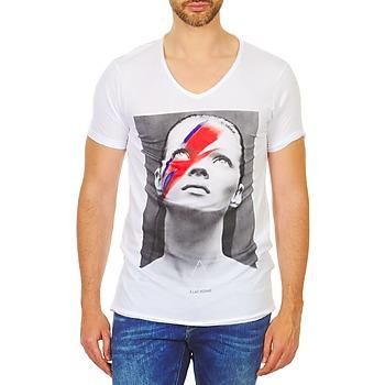 Ruhák Férfi Rövid ujjú pólók Eleven Paris KATOS Fehér