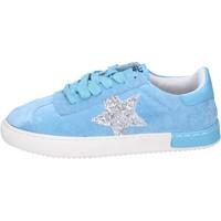 Cipők Lány Rövid szárú edzőcipők Holalà BH09 Kék