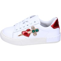 Cipők Lány Rövid szárú edzőcipők Holalà BH12 Fehér