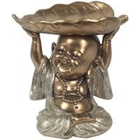 Otthon Szobrok, figurák Signes Grimalt Buddha Lapos Tálca Dorado