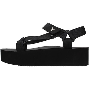 Cipők Női Szandálok / Saruk Windsor Smith PEEPED BLACK