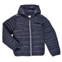 Ruhák Gyerek Steppelt kabátok Aigle ANITA Tengerész