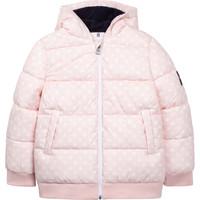Ruhák Lány Steppelt kabátok Aigle SOLILA Rózsaszín