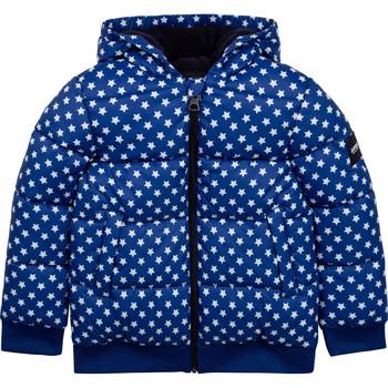 Ruhák Gyerek Steppelt kabátok Aigle SOLILA Kék