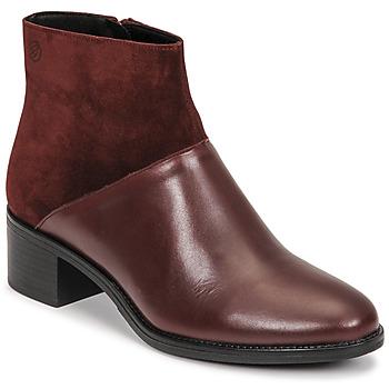 Cipők Női Bokacsizmák Betty London PANDINA Bordó